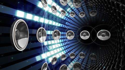 Disco Space ESpB1 HD Stock Video Footage