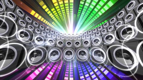 Disco Space ESpR5 HD Stock Video Footage