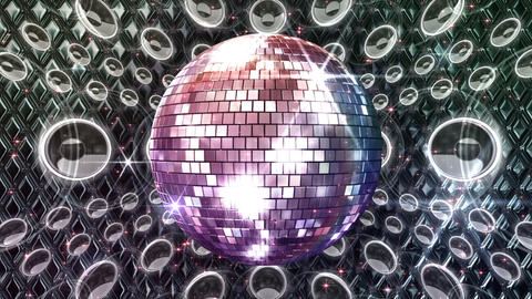 Disco Space MSpB1 HD Stock Video Footage