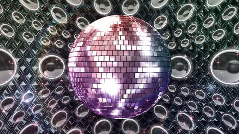 Disco Space MSpB1 HD Animation