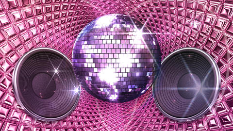 Disco Space MSpC1 HD Stock Video Footage