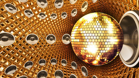 Disco Space MSpG2 HD Stock Video Footage