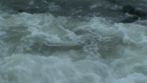 Background from waves at seashore, close-up Footage