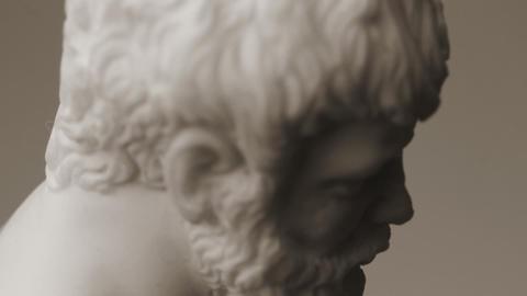animation sculpture Stock Video Footage