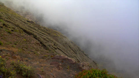 timelapse cloud from high mountain Stock Video Footage