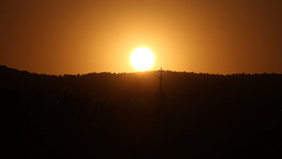 Beautiful Sunset TimeLapse Stock Video Footage