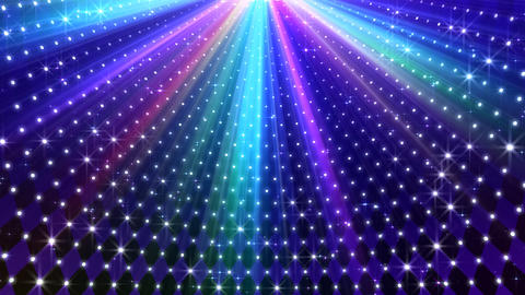 LED Disco Wall CMb4 Stock Video Footage