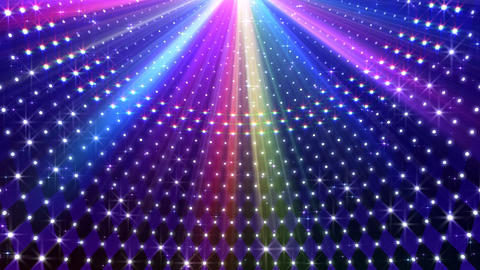 LED Disco Wall CMb4 Animation