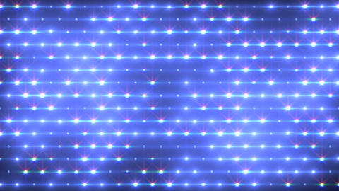 LED Disco Wall FFa1 Stock Video Footage