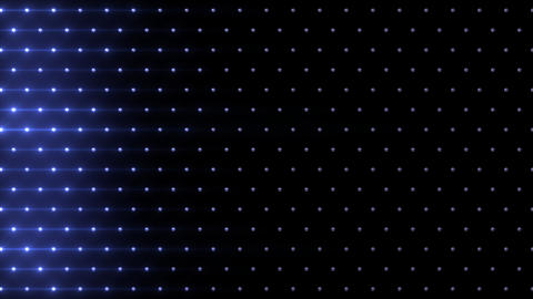 LED Disco Wall FFb 1 Stock Video Footage