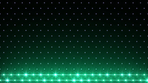 LED Disco Wall FFb 5 Stock Video Footage