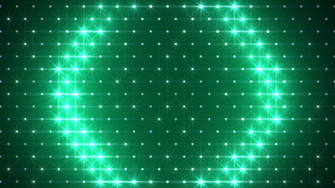 LED Disco Wall FFd 5 Stock Video Footage