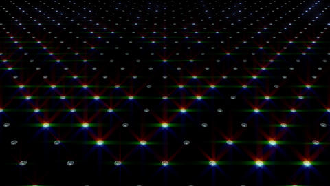 LED Disco Wall FMb1 Stock Video Footage