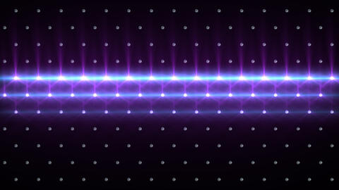LED Disco Wall FPa6 Stock Video Footage