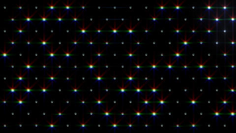 LED Disco Wall FPb2 Stock Video Footage