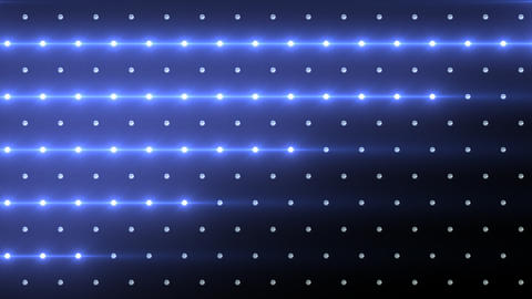 LED Disco Wall FPc1 Stock Video Footage