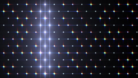 LED Disco Wall FPd2 Stock Video Footage
