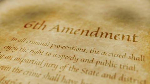 Historic Document 6th Amendment Animation
