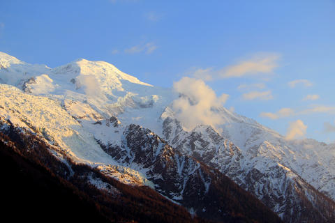 Mont Blanc moutains timelapse Footage