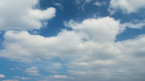 Autumn Clouds. Time Lapse 4K stock footage