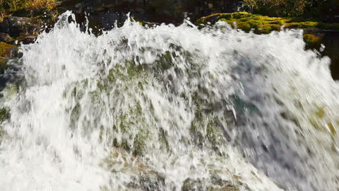 1920x1080 hidef. hdtv - Small waterfall Stock Video Footage
