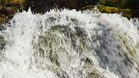 1920x1080 hidef. hdtv - Small waterfall Live Action