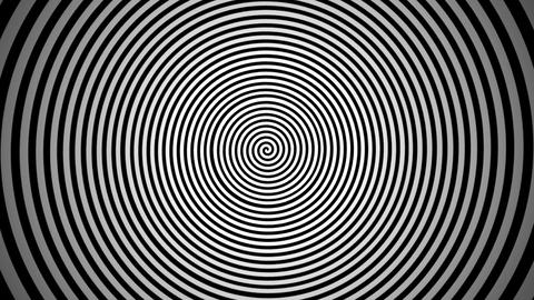 Endlessly rotating hypnotic spiral. Look into the Animation