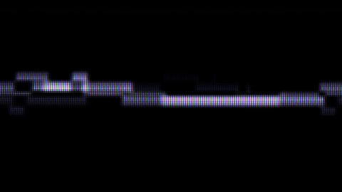 Endless music wave on the screen close-up Footage