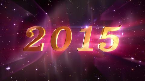 New Year 2015 Animation