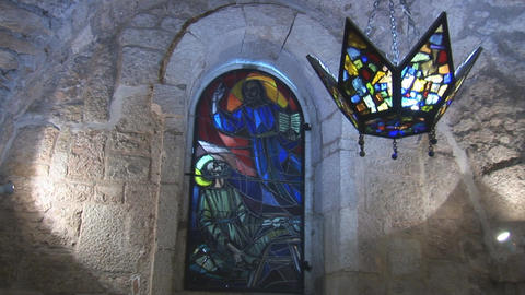 Chapel in Holy Land Stock Video Footage