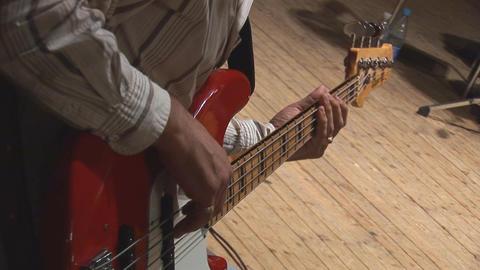 guitare 2 Stock Video Footage