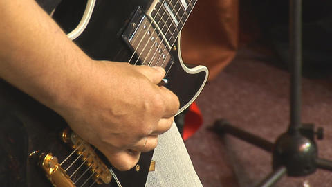 guitare 4 Stock Video Footage