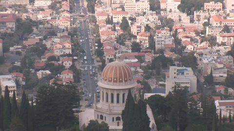 haifa bahai 2 Stock Video Footage