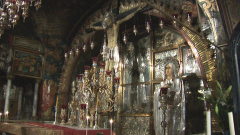 Altar at Calvary Stock Video Footage