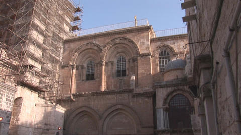 Holy Sepulcher Footage