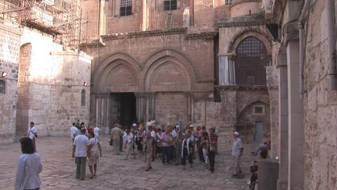 Holy Sepulcher Stock Video Footage