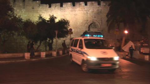 Jerusalem police 3 Footage