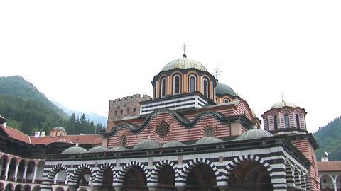 Rila Monastery Stock Video Footage