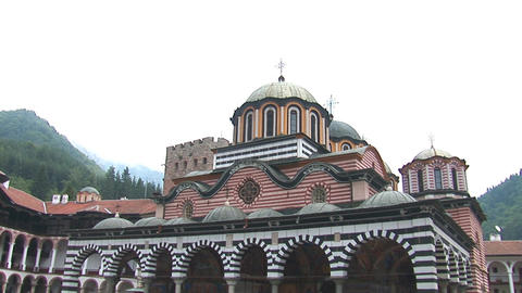 Rila Monastery Footage