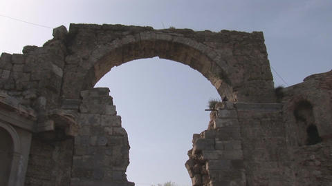 side arch Stock Video Footage