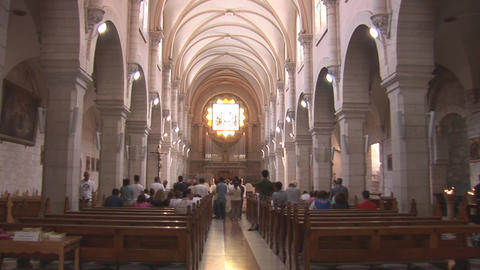 Saint Catherine church Stock Video Footage