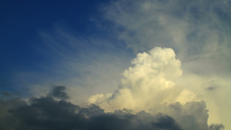 Cloudscape, Time Lapse Stock Video Footage