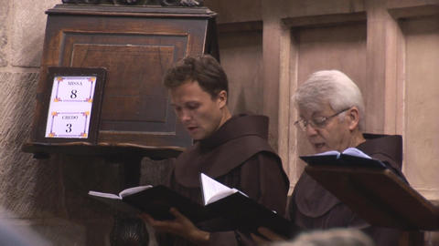choral Stock Video Footage