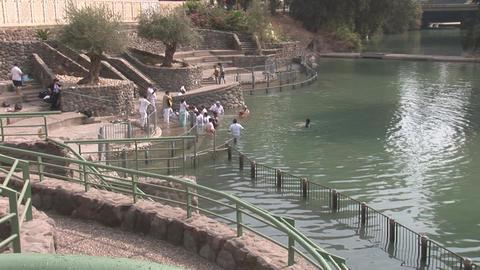 crowd in Jordan 2 Stock Video Footage