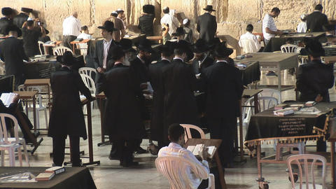 Kotel at night 3 Footage