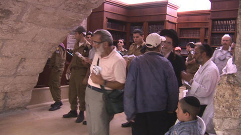 Kotel synagogue 2 Footage