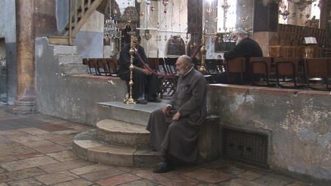 nativity church 3 Stock Video Footage