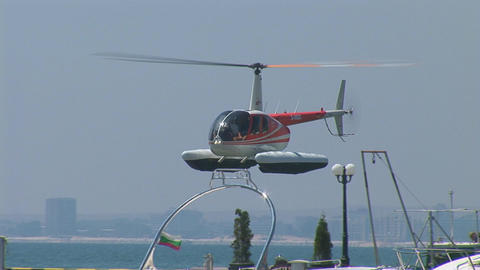 helicopter 3 Stock Video Footage