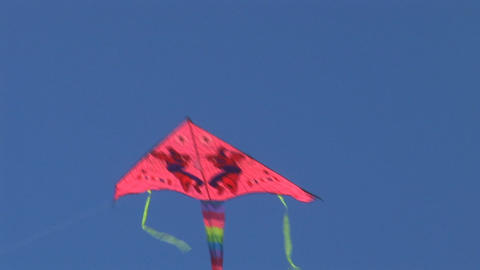 kite 2 Stock Video Footage