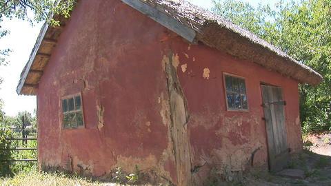 mud house Stock Video Footage